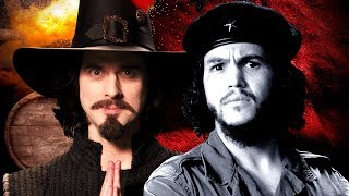 Download Guy Fawkes vs Che Guevara. Epic Rap Battles of History. Video