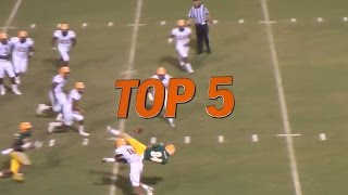 Download Hudl Top 5 High School Football Plays: Week 3 - 2015 Video