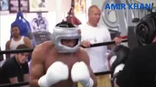 Download Boxing Super Star Amir Khan in a brutal spar Wild Card Gym Video
