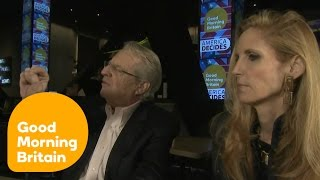 Download Debate Between Jerry Springer and Ann Coulter Turns Nasty | Good Morning Britain Video