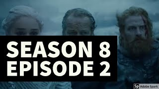 Download DROGON ROASTS NIGHT KINGS ARMY //SEASON 8 E02//GAME OF THRONES//THEORY Video