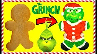 Download The GRINCH MOVIE Inspired Gingerbread Man Cookie Decoration Video