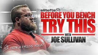 Download Bench Press Warm-Up with Joe Sullivan | elitefts Video