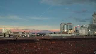 Download Nashville Tenn. The Gulch Total Solar Eclipse Rooftop video Aug. 21 2017. Includes shadow bands. Video