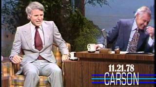 Download Steve Martin Has to Leave Johnny Carson, Funniest Moments Video