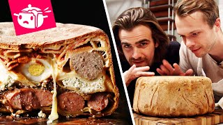 Download We Tried To Make The Most Intimidating Pasta Dish (Timpano) Video