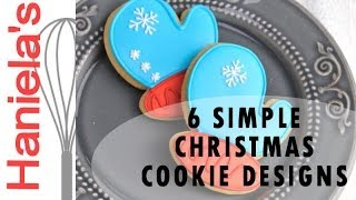 Download HOW TO DECORATE SIMPLE CHRISTMAS COOKIES, DECORATING FOR BEGINNERS Video