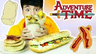 Download i only ate ADVENTURE TIME FOODS for 24 hours!!! Video