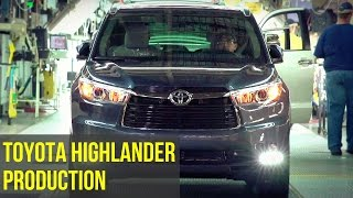 Download 2017 Toyota Highlander Production Video