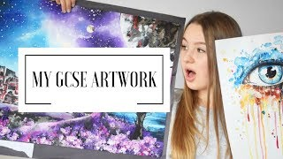 Download MY GCSE ARTWORK | A* student Video