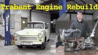 Download Rebuilding the Trabant's Engine: Part 1 - The Teardown Video