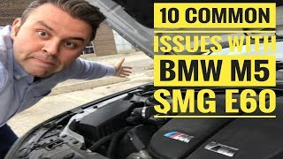 Download WATCH THIS BEFORE BUYING BMW M5 E60 SMG - 10 COMMON ISSUES AND PROBLEMS Video