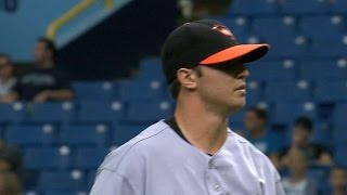 Download BAL@TB: Britton fans six in his Major League debut Video