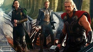 Download Thor Flying a Ship - Escape From Asgard (Scene) Thor: The Dark World (2013) Movie CLIP HD Video