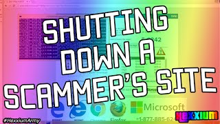 Download TAKING DOWN A TECH SUPPORT SCAMMER'S WEBSITE Video