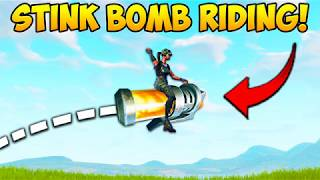 Download YOU CAN RIDE STINK BOMBS..?! - Fortnite Funny Fails and WTF Moments! #232 (Daily Moments) Video