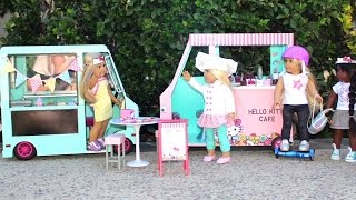 Download DIY American Girl Doll Hello Kitty Cafe Video