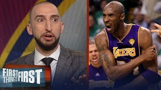 Download Nick Wright rips Kobe for his condescending remarks on LeBron James | NBA | FIRST THINGS FIRST Video