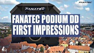 Download FANATEC PODIUM WHEEL BASE - FIRST IMPRESSIONS Video