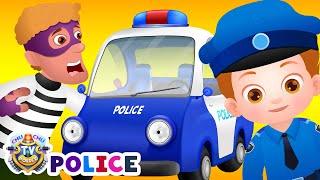 Download ChuChu TV Police Chase Thief in Police Car & Save Huge Surprise Egg Toys Gifts from Creepy Ghosts Video