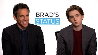 Download Interview with Ben Stiller and Austin Abrams for Brad's Status Video