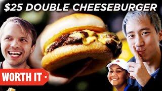 Download $7 Double Cheeseburger Vs. $25 Double Cheeseburger Video