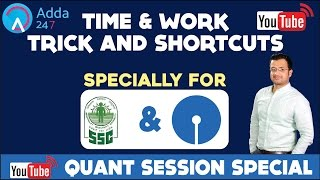 Download TIME AND WORK TRICKS AND SHORTCUT FOR (SBI PO & SSC) Video