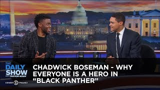 Download Chadwick Boseman - Why Everyone Is a Hero in ″Black Panther″ - Extended Interview Video