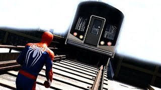 Download CAN SPIDERMAN STOP THE TRAIN? (Spiderman Game 2018) Video