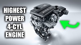 Download How Mercedes Made The Most Powerful 4-Cylinder Engine In The World Video