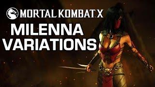 Download Milenna Variations Official Breakdown - Mortal Kombat X Video