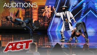 Download WOW! EPIC Dance Crew Delivers Mortal Kombat x Street Fighter Show - America's Got Talent 2019 Video