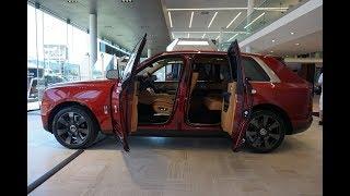 Download 2019 Rolls-Royce Cullinan - LAUNCH EDITION Walkaround in 4K Video