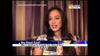 Download Hazel Keech visits Chandigarh Video