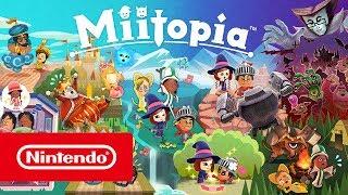 Download Miitopia - Launch Trailer (Nintendo 3DS) Video