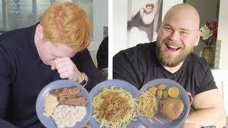 Download Försöker äta som Sveriges starkaste man på en dag Video