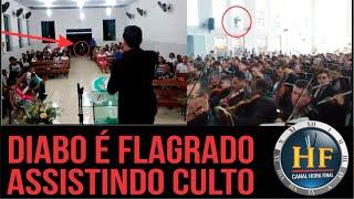 Download Diabo aparece durante culto em duas igrejas! Fake news? Video