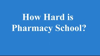 Download How Hard is Pharmacy School? An Honest Opinion Video