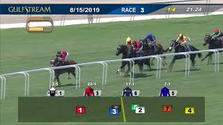 Download Gulfstream Park August 15, 2019 Race 3 Video