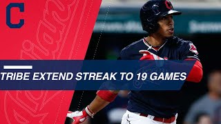 Download See the highlights of the Indians 19 game win streak Video