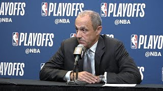 Download Spurs' Ettore Messina on Game 4 win over the Warriors Video