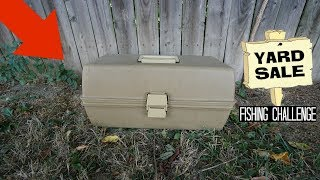 Download Found FULL Tackle Box at Yard Sale for $5!! (Treasure Chest) Video
