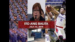 Download UNTV: Ito Ang Balita (July 13, 2018) Video