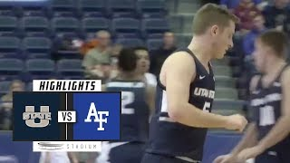 Download Utah State vs. Air Force Basketball Highlights (2018-19) | Stadium Video