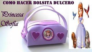 Download COMO HACER BOLSITA DE GOMA EVA PRINCESITA SOFIA Video