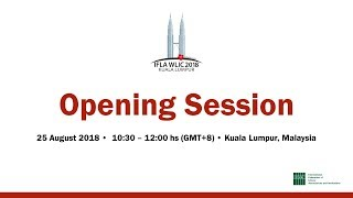 Download IFLA WLIC 2018: Opening Session Video