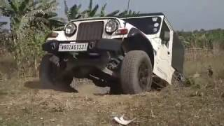 Download Scorpio Bolero Thar Storme Duster Gypsy crossing an obstacle Video