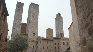 Download San Gimignano, Tuscany, Italy travel movie Video
