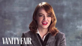 Download Emma Stone Talks Ryan Gosling's Twizzlers Obsession | Vanity Fair Video