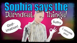Download Sophia the AI Robot Says The Darndest Things! HAS THE SINGULARITY HAPPENED? Artificial Intelligence Video